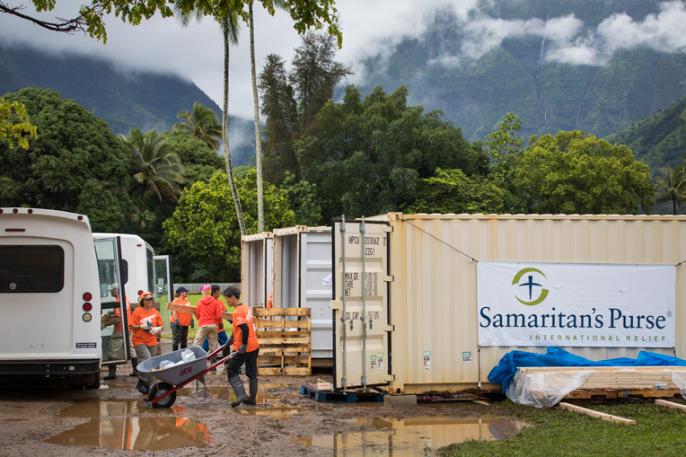 Picture of Samaritan's Purse Volunteers
