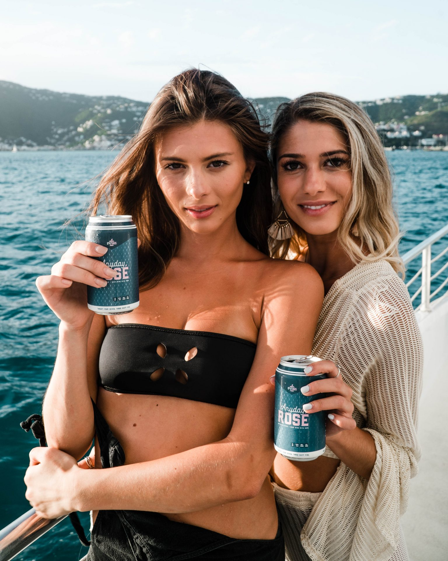 2 Girls on a Boat With Anyday Rosé